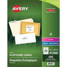 EcoFriendly File Folder Labels
