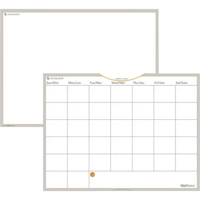 Wallmates® Self-Adhesive Monthly Planning Surface Kit
