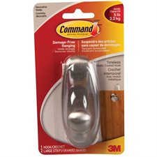 Command™ Metallic Coating Adhesive Hook