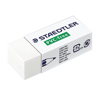 Latex-Free White Eraser