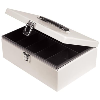 Offix® Cash Box with Tray