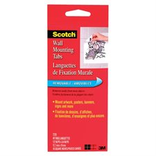 Scotch® Wall Mounting Tabs