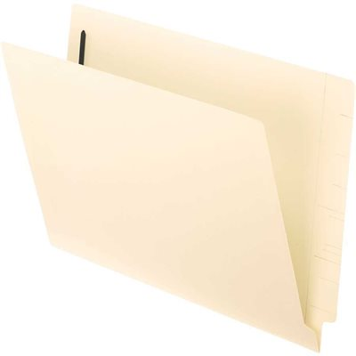 Straight-Cut File Folder with Fastener