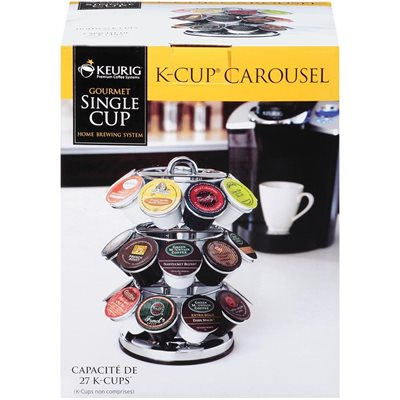 CAROUSSEL FOR 27 KCUPS