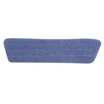 MICROFIBER PAD WET 18'' BLUE