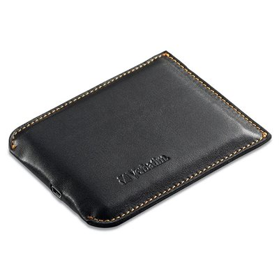 Wallet Drive Leather Portable Hard Drive