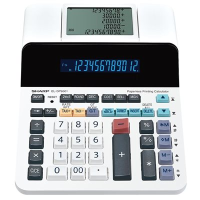 ELDP9001 Paperless Desktop Calculator
