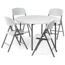 Lite Lift II Round Folding Table