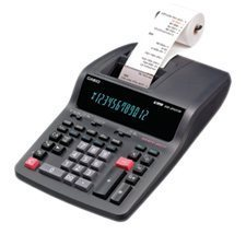 """DR-210TM"" printer calculator"